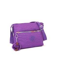 c1381f2bc Camille Crossbody Bag - Plum Orchard with Whimsical Patchwork Trim | Kipling  Mochilas, Carteras,