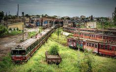 폴란드, 버려진 열차 종착역
