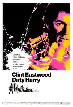 Again, Clint Eastwood always has cool posters.