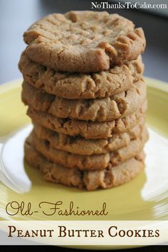 Old Fashioned Peanut Butter Cookies Peanut Butter Biscuits, Healthy Peanut Butter Cookies, Cookie Brownie Bars, Cookie Desserts, Dessert Recipes, Peanut Brittle Recipe, Brittle Recipes, Sweet Bar, Weight Watchers Desserts