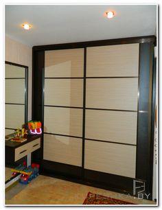 Шкаф для спальни. шкаф купе на 4 створки - встроенный. цвет .
