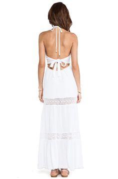 Surf Gypsy Maxi Dress in Ivory | REVOLVE