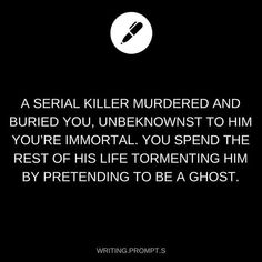 Writing prompt Immortal