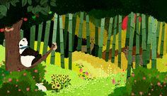 """Check out this @Behance project: """"Giant Panda"""" https://www.behance.net/gallery/57040281/Giant-Panda"""