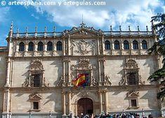 Perido clasicista de la arquitectura del Renacimiento en España: Fachada de la Universidad de Alcalá de Henares