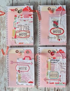Mish Mash blog. Lovely notebooks