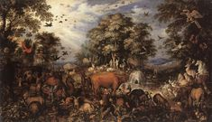 Roelant Savery - The Paradise - WGA20896 - Category:Adam and Eve in paintings - Wikimedia Commons