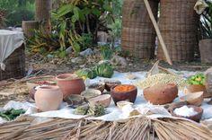 Prehispanic Mayan Market , Xcaret Park , Quintana Roo. Quintana Roo, Religion, Culture, Plants, Color, Maya Civilization, Colour, Plant, Planets