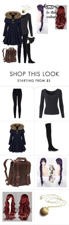 """It's cold out"" by bec1995 ❤ liked on Polyvore featuring New Look, Stuart Weitzman, Artista and Vagabond Traveler"