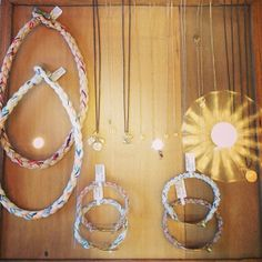 Closing up Resort with our Rope Necklaces & Bracelets.  Time to start spring 2014! #neverendingchange #agoodthing #scosharesort #love