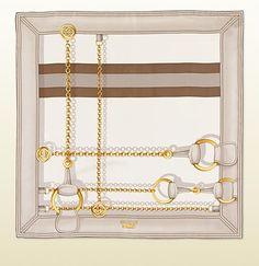 Shop the Gucci Official Website. Textile Design, Fabric Design, Gucci Scarf, Closet Accessories, Designer Scarves, Scarf Design, Vintage Scarf, Modern Prints, Silk Scarves