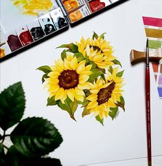 @minartillust - Illustrator Mina Park 미나뜨 | Watercolor Illustration Sunflowers 예쁘면서도 쉽고, 기법을 배울 수 있는 수업샘플 디자인을 끊임없이 연구합니다. 배우러 왔다가 좌절하지 않으시도록.. 평생 아름다운 취미로 즐기실 수 있도록.. • • 수업문의는 블로그로(프로필링크) • 사진 퍼가지 마세요! 2차가공 ※저작권보호.도용.변형 copy※ • • #minartillust #미나뜨일러스트 #수채화클래스 #수업교재 #해바라기 #sunflowers #flowerpainting #dailydrawing #fabriano #watercolors #danielsmith #swc #신한물감 #그림 #저작권