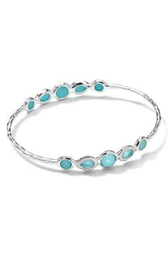 Ippolita 'Wonderland' Five-Stone Bangle