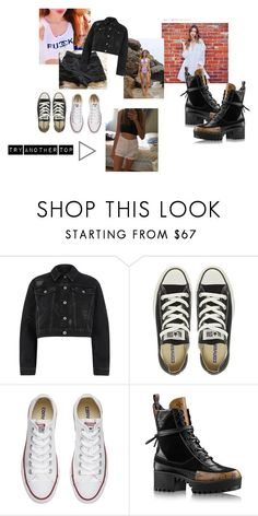 """anya"" by milana-james on Polyvore featuring мода, River Island и Converse"