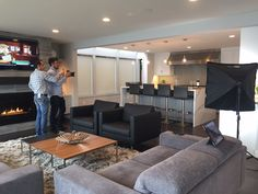 The photoshoot begins! 📸Stay tuned for the afters of this beautiful #Kirkland residence! 🙌🏻 #InteriorVisionsLLC • • • • #photoshoot #friday #interiordesign #interiordesigner #modern #design #style #interior #interiors #instalove #instadaily #love #project #complete #kirkland #seattle #pnw #fall #time #interiorstyling #residentialdesign #transformation #instacool