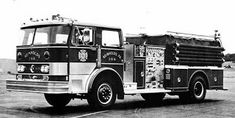 HAHN PUMPER  FIRE TRUCK - 1973