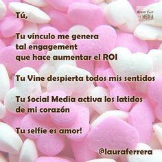 el #SocialMedia inspira haciendo que llegando #SanValentín y el amor se potencie