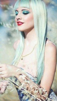 Mint Hair...striking & beautiful ❤❤