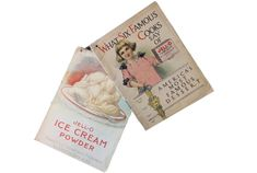Jell-O recipe book, culinary ephemera, ice cream powder pamphlet, chromolithograph, Jell-O girl Vintage Paper, Vintage Items, Famous Desserts, Jell O, Booklet, Ephemera, Powder, Ice Cream, Recipes