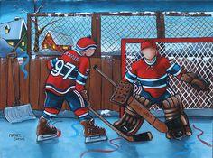 Montreal Canadiens, Hockey Decor, Vintage Art, Spiderman, Superhero, Hockey Apparel, Fictional Characters, Basement, Gifs