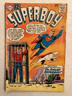 Check out what I'm selling on Mercari! VTG DC Comics Superboy No 96 Silver Age Dc Comic Books, Vintage Comic Books, Vintage Comics, Comic Book Covers, Comic Book Characters, Comic Character, Comic Art, Gi Joe, Superman Pictures