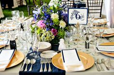 Reception Table.