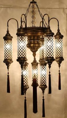 Stunning moroccan style vintage jeweled cutwork flower table lamp moroccan chandelier aloadofball Image collections