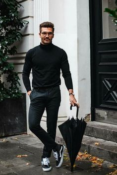 New Style Mens Casual Moda Masculina Ideas Stylish Men, Men Casual, Casual Menswear, Casual Fall, Winter Outfits, Casual Outfits, Casual Shoes, Men's Outfits, Black Outfits