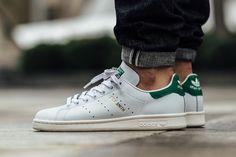 "adidas Stan Smith ""Footwear White, Green & Metallic Gold"""
