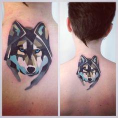 .@Sasha Unisex | #tattoo #wolf #watercolor | Webstagram - the best Instagram viewer
