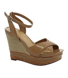 533873dee4d Gianni Bini Cara Wedge Sandals  Dillards