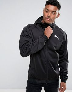 Puma Windbreaker In Black 59234201 - Black