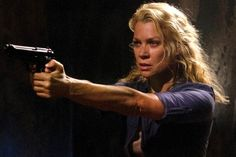 Laurie Holden as Andrea on The Walking Dead