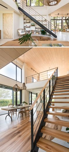 97 Most Popular Modern House Stairs Design Models - Home Stairs Design, Railing Design, Interior Stairs, Loft Design, Interior Design Kitchen, Modern Stairs Design, Rustic Stairs, Wood Stairs, Loft House