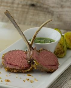 Sage Crusted Australian Lamb Chops