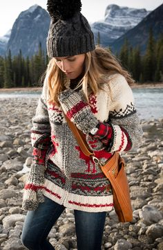 Mary Maxim began with hand knit designs in the early 1950s, influenced by the beautiful wildlife of North America. In celebration of their 60th anniversary (!), we've created a nostalgic collection featuring the iconic curling sweaters and accessories that are just as quintessentially Canadian today as they were then. View the entire collaboration on roots.com!