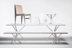 NEB Rectangular table - Malmö modern