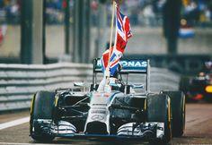 """ 2014 Formula 1 World Champion - Lewis Hamilton """