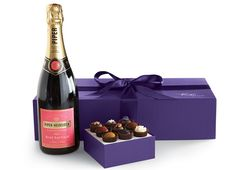 Piper Heidsieck Brut Rose Champagne & Exotic Truffles - Top 10 Champagne Gift Sets by FriendsEAT