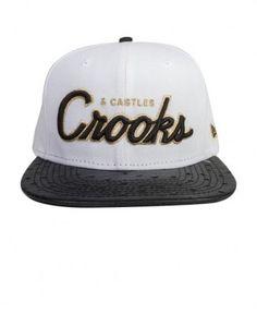 Crooks & Castles - Team Crooks Strapback Cap - $40