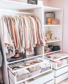 Closet Room Update {Pax Wardrobe} in wardrobe Closet Room Update {Pax Wardrobe} - Dekoration Bedroom Closet Design, Wardrobe Design, Closet Designs, Modern Wardrobe, Double Wardrobe, Wardrobe Room, Wardrobe Closet, Ikea Pax Closet, Ikea Closet System