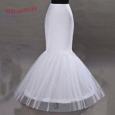 c7b450ad4411 NIXUANYUAN 2017 Wholesale Mermaid Petticoat 1 Hoop Bone Elastic Wedding  Dress Crinoline 2017 Bridal Petticoat Cheap