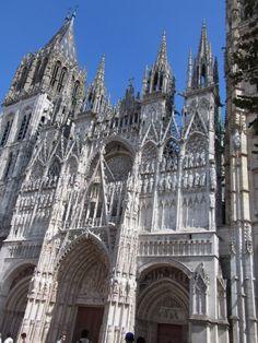 Rouen Cathedral Cathédrale Notre-Dame de Rouen Rouen, Normandy, France