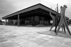 New National Gallery Berlin - Ludwig Mies van der Rohe