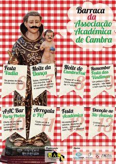 Barraca da Associação Académica de Cambra  # 6 a 13 de Junho, 2012  @ Festas de Santo António, Vale de Cambra
