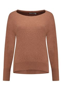 Vince Pullover Cashmere Ginger - V448577576 750 - NIEUW Bloom Fashion