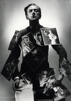 Cecil Beaton photographed by Paul Tanqueray