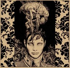 "Artist: Vania Zouravliov (illustration for ""Howling Songs"" Matt Elliott). Linked to artist interview."