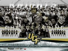 2012-13 UCF Cheerleading Poster