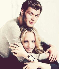 Joseph Morgan and Candice Accola aka Caroline and the beautiful Klaus!. When will he come back?! The vampire diaries will not be the same!